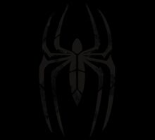 Spider-Man Segmented Logo (Black Background) by JoshBeck