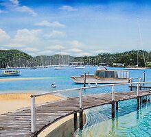 Winneerreny Bay Pittwater by Sarina Tomchin
