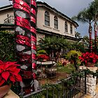 Christmas in a Naples Garden by Celeste Mookherjee