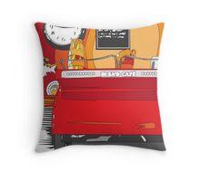 Blend Cafe Throw Pillow
