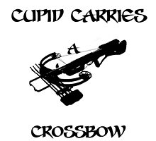 Cupid Carries A Crossbow by Hjarema18