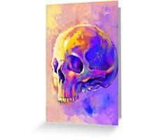 Skull harmony 2 Greeting Card
