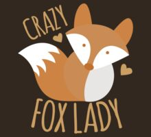 Crazy Fox lady by jazzydevil