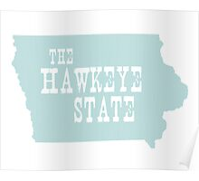 Iowa State Motto Slogan Poster