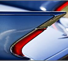 Tail fin and tail light by Wolf Sverak