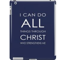 I CAN iPad Case/Skin
