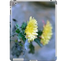 Chrysanthemum losing hope iPad Case/Skin