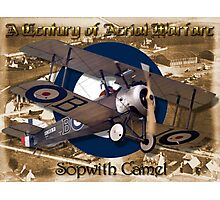 Sopwith Camel  A Century of Aerial Warfare Photographic Print