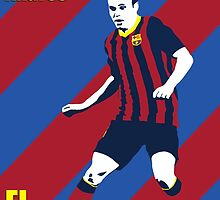 Iniesta by johnsalonika84