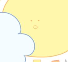 Cloud & Sun Sticker