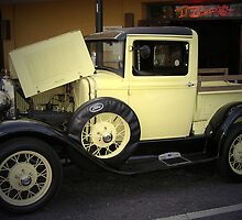 1931 Ford Model A Pickup Truck by Lisa  Weber