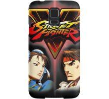 Street Fighter - Chun-li & Ryu Samsung Galaxy Case/Skin
