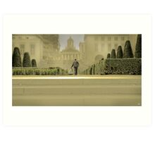 Brussels Gardener Art Print