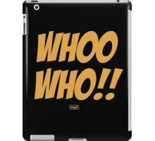 Whoo Hoo!! iPad Case/Skin