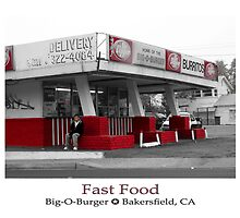 Big-O-Burger, Bakersfield, CA by Ryan Houston