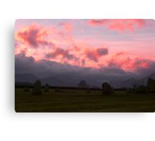 Sunset at Castlerigg Canvas Print