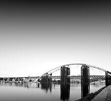 long exposure bridge by alexey sorochan