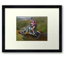 Triangle MCC Boxing Day Trial Framed Print