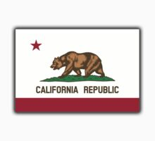 Californian Flag, Flag of California, California Republic, The Bear Flag, State flags of America, American, USA by TOM HILL - Designer