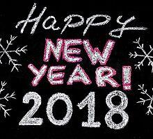 Happy new year 2018 by Stanciuc