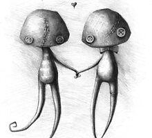 Mr.Shroom and Mrs.Shroom by AddatheRipper