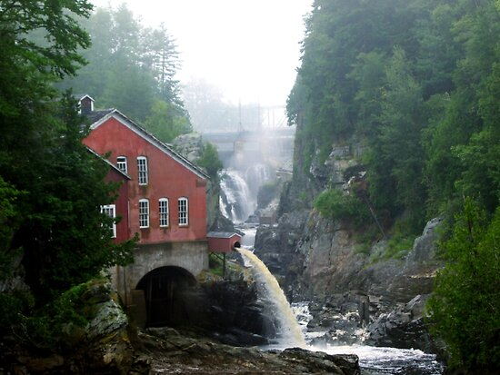 The Old Mill by Glenn Esau