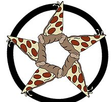 Pizza Pentagram by assorted