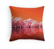 Tree's On Mars Throw Pillow