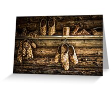 Bast Shoes For All Greeting Card