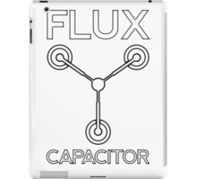 Flux Capacitor - Black iPad Case/Skin
