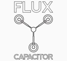 Flux Capacitor - Black by JohnLucke