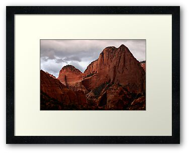 Kolob Canyon, Zion National Park, Utah by Ryan Houston