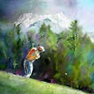 Golf In Crans-Sur-Sierre 02 by Goodaboom