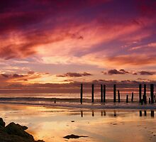 Pt Willunga Sunset by Graham Jones