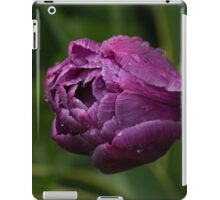 Stripes, Raindrops and Petals iPad Case/Skin