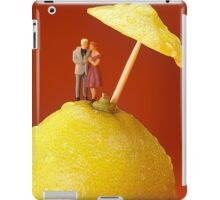 A Couple In Lemon Rain iPad Case/Skin