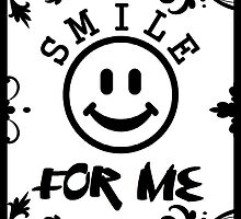Smile for me floral by KirstyBarnett