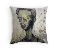 Suspending Concentration Throw Pillow