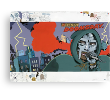 MF DOOM Operation: Doomsday Canvas Print