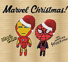 Simple Marvel Christmas Card by Eastwick