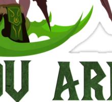 Illidan Stormrage (World of Warcraft) Sticker