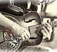 Guitar Player by GalleryThree
