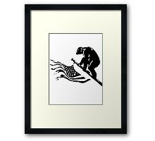 dawn of the planet of the apes Framed Print