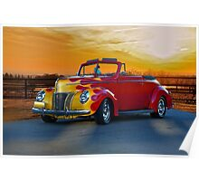 1940 Ford Deluxe Convertible Poster