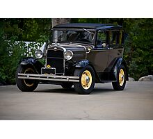 1931 Ford Model A Sedan Photographic Print