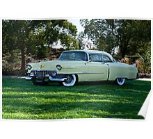 1954 Cadillac Coupe de Ville Poster