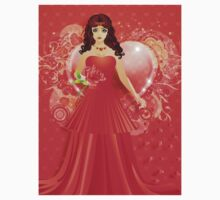 Lady in red dress 5 Kids Clothes