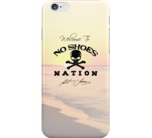 Welcome to No Shoes Nation-- Kenny Chesney iPhone Case/Skin