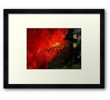 The Fire From Within  Framed Print