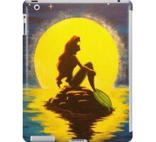 Ariel & the Moon - the Little Mermaid iPad Case/Skin